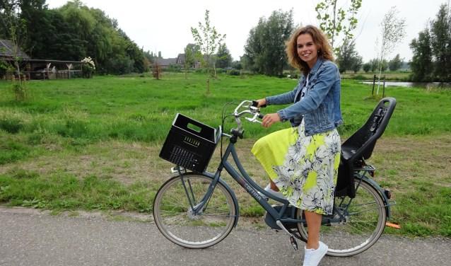 Mariëlle de Bruijn zit in het bestuur van vereniging Den Hâneker. (Foto: Eline Lohman)