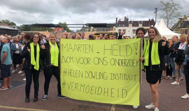 Een van de onderzoeken waar Maarten van der Weijden voor zwom was het onderzoekREFINE van het Helen Dowling Instituut (HDI).