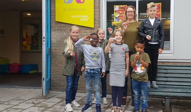 Met (snoep)hartjes start het nieuwe schooljaar op de Zilvermaan Bloemstede