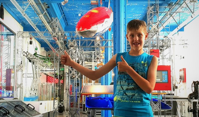 Science Centre Delft wil uitvinders in de dop zoals Julian, en andere kinderen inspireren om techniek te gaan studeren.