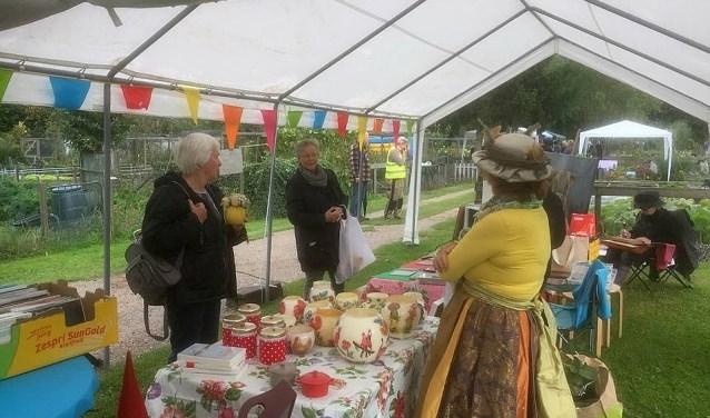 Tuinvereniging de Jipkesbelt zet zaterdag de poorten open van 10.00 tot 13.00 uur tijdens de open dag.