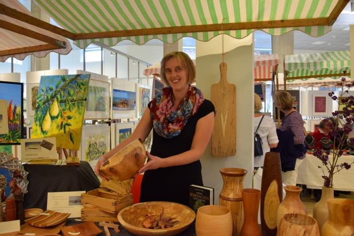 Kunstmarkt in De Cultuurfabriek Bibliotheek Veenendaal © Persgroep