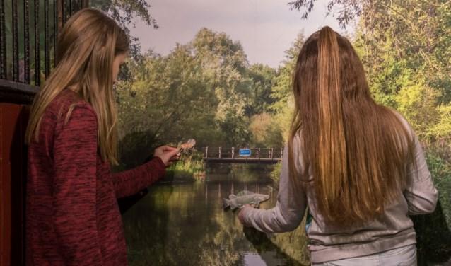 De Kleine Dommel staat centraal tijdens een expositie in Kasteelpark Geldrop. FOTO: Margot Klaren