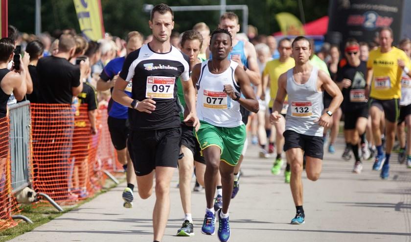 Start van de 5 km in 2017.