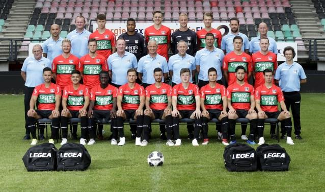 De selectie van NEC voor komend seizoen. (foto: Broer van den Boom/NEC)