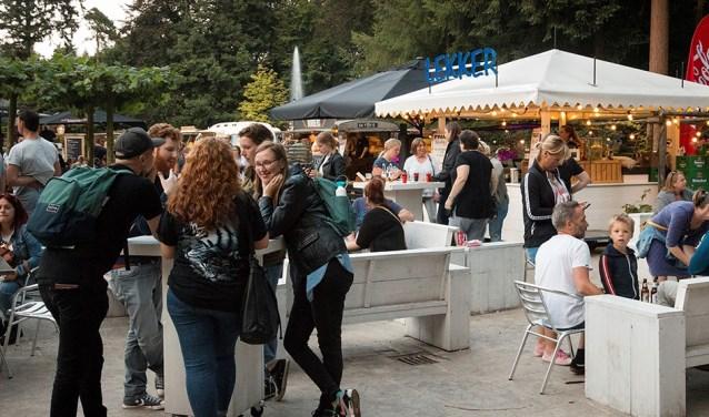 Een sfeerbeeld van het DierenPark Amersfoort Foodfestival vorig jaar. (Foto: DierenPark Amersfoort)