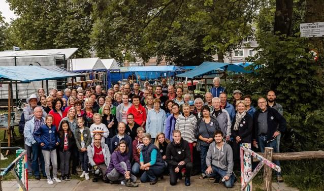 vrijwilligers Eshofmarkt