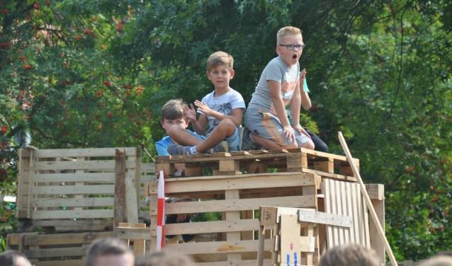Zo'n 180 Waspikse kinderen gaan de laatste week van de zomervakantie met elkaar leuke activiteiten beleven in het dorp.