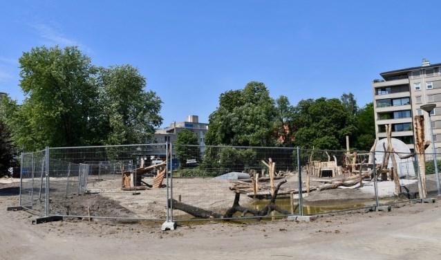 In het Hagenpark zijn behoorlijke veranderingen zichtbaar geworden