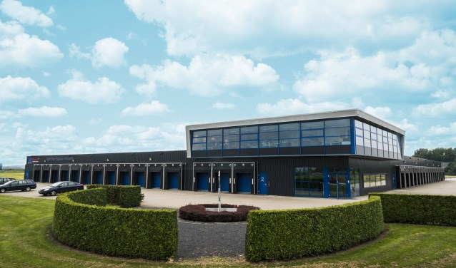 Night Star Express Hellmann starten met een forse uitbreiding van het huidige crossdockcentrum in 's-Heerenberg. (foto: PR)