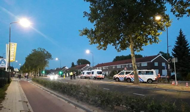 Politieonderzoek aan de Dordtse Merwedestraat.
