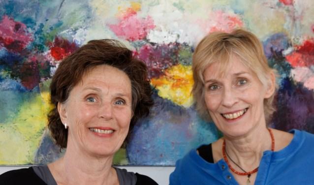 Tjitske van der Heide en Ineke Graamans heten u welkom in hun nieuwe galerie.