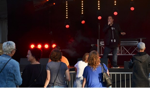 Mark van Veen in actie tijdens het Zomerfestival. Foto: Mimi van Rossem