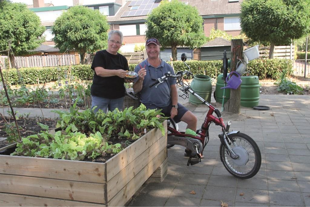 Johan Corbijn (r) en Willy van der Hoeven.