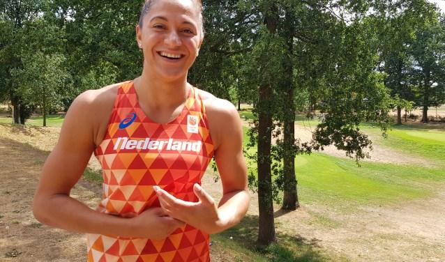 Naomi Sedney komt volgende week in actie op het EK atletiek