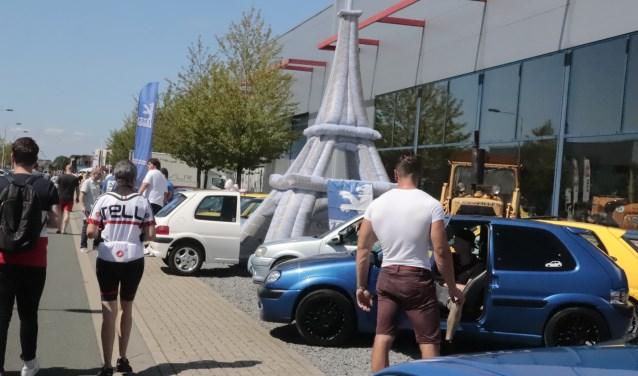 Franse autodag bij Henk Visscher. Foto: Theo van Dam
