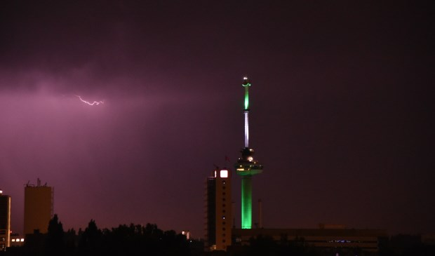 Zó zag het er afgelopen nacht uit. Foto: AS Media