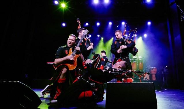 Feest gegarandeerd met de Red Hot Chilli Pipers; ze treden zaterdagavond op tijdens Night of Kilts. Foto: Benno Hunziker