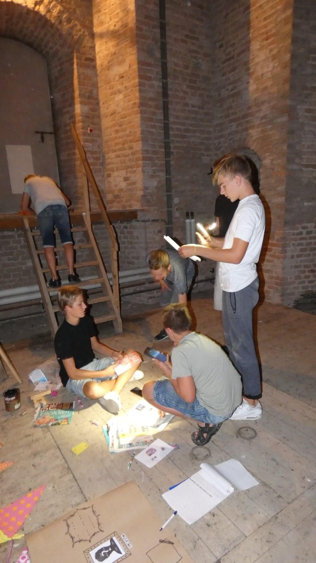 Avondprogramma Excape Room Foto: Nelleke Brenkman © Persgroep