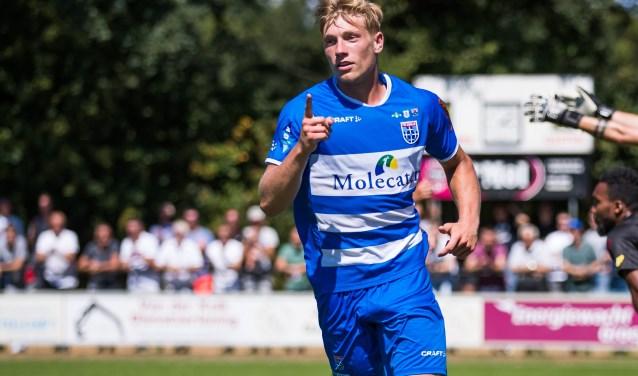 Zian Flemming werd met zeven doelpunten topscorer van de voorbereiding.