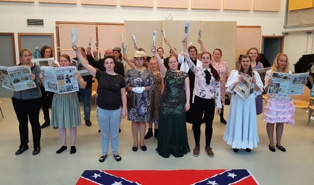 Het verhaal van Parade speelt zich af in het Amerika van 100 jaar geleden. Foto: Scylla Theaterproducties