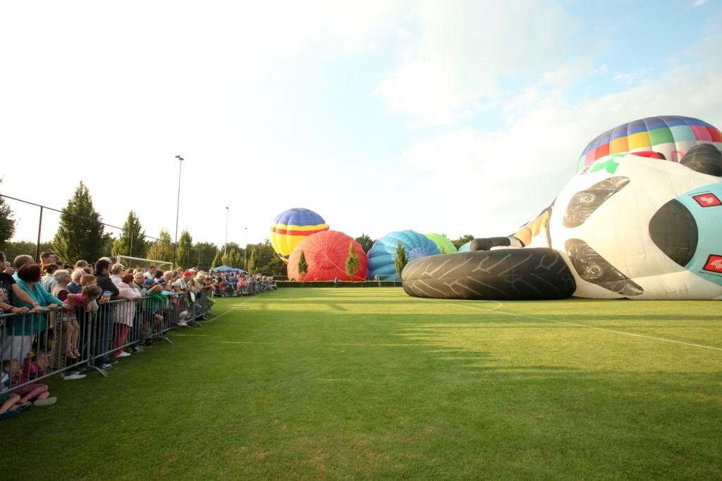 Een beeld van de Brabantse Ballonfeesten van vorig jaar.Foto Frans Brzoskowski.