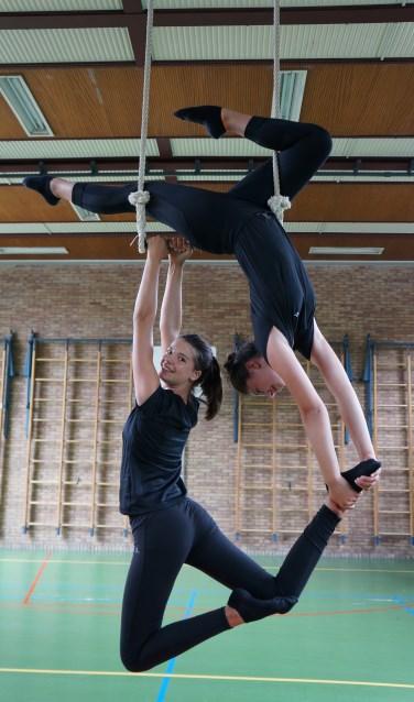 Leerlingen Circustheaterschool De Klim