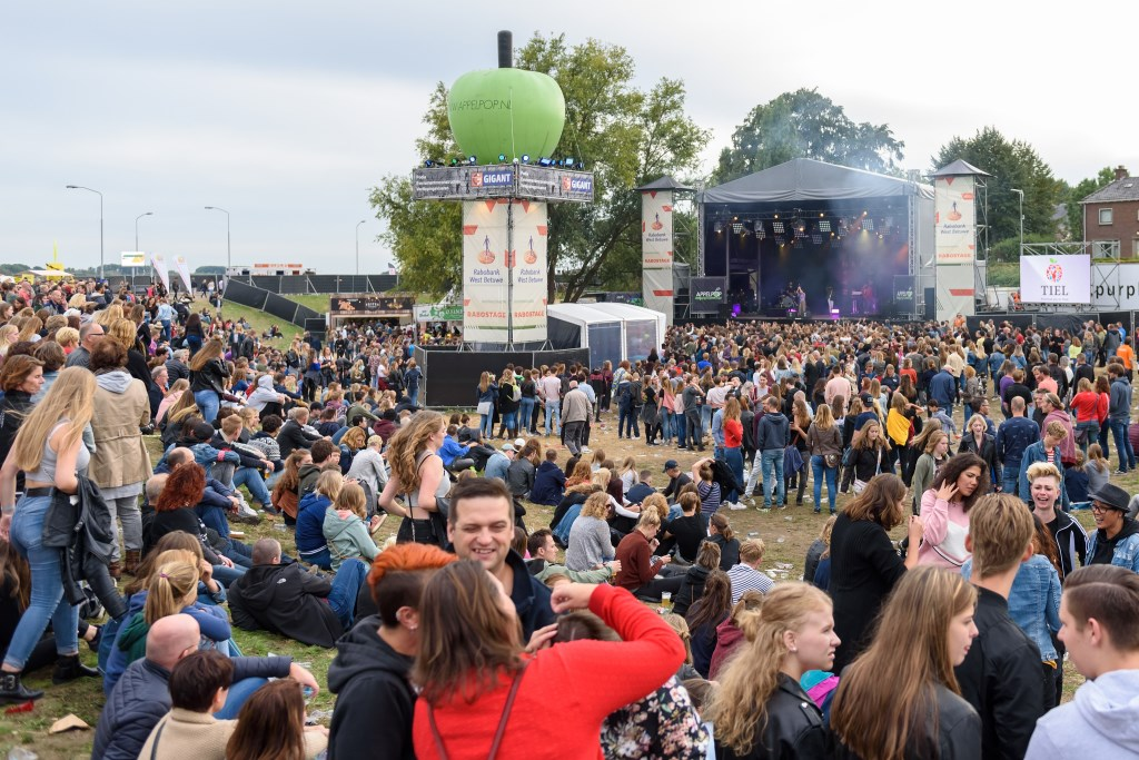 The Rabo stage Foto: Rob Jansen © Persgroep