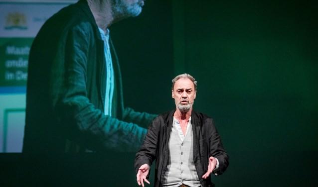Acteur Kees van Loenen kruipt in de huid van een oude eenzame man. Foto Valerie Kuypers
