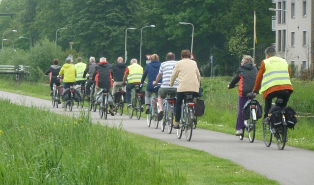Voor de sportievelingen staan er twee fietstochten op het programma. Foto: PR