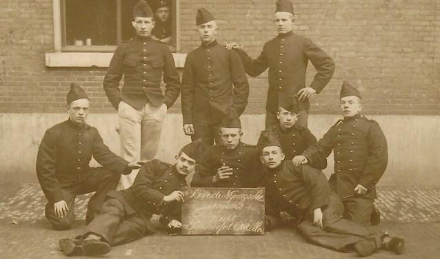 soldaten van Fort Pannerden
