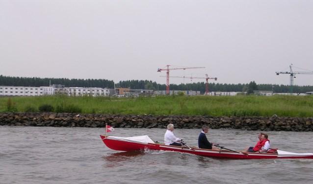 Bij de K.D.R.& Z.V. zijn ze wel gewend aan roeien op grote rivieren. (foto: pr)