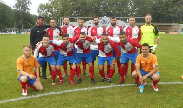 De zondagsectie van GSC ODS die dit seizoen debuteert in de vierde klas van het amateurvoetbal.