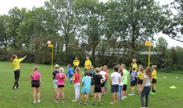 Op de maandag was bondstrainer Dolf Nijbroek aanwezig om de lessen te verzorgen, samen met de trainers van Olympia, op dinsdag deden de trainers het zelf.