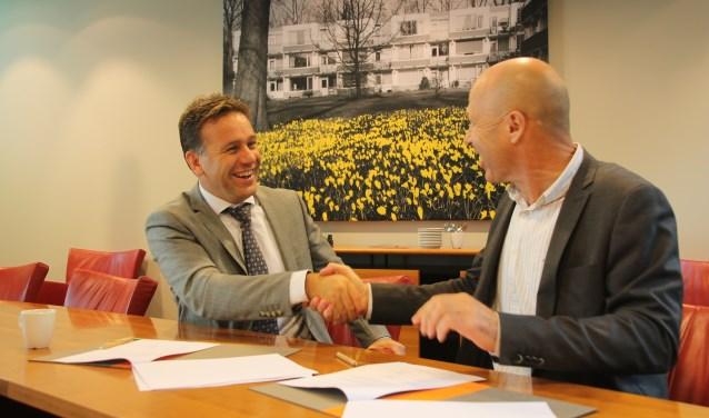 Woongoed Zeist en BAM Wonen ondertekenden 21 september een overeenkomst voor de bouw 80 sociale huurwoningen in Kerckebosch.
