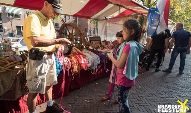 Lekker struinen over de gezellige marktjes hoort er gewoon bij!