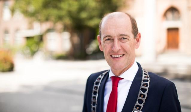 Burgemeester Sander Schelberg. Foto: Je Leukste Foto