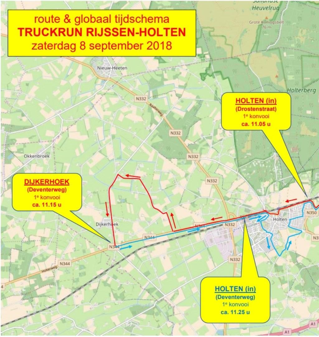 Foto: stichting Truckrun Rijssen-Holten © Persgroep