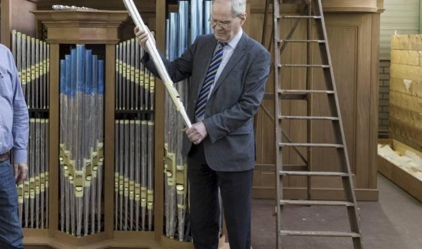 Jan van den Heuvel komt op Monumentendag een toelichting geven over de kwaliteiten van het orgel. (Foto: PR)