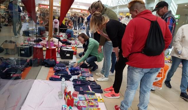 Kinderkleedjesmarkt Scheepjeshof