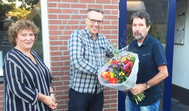 vlnr.: Monique Dijk, Maarten Hoek, Hanjo Haneveld