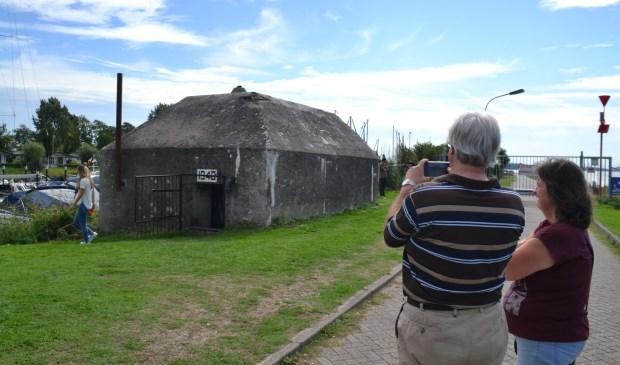 De Nederlandse kazemat in Willemsdorp. (foto: Arco van der Lee)