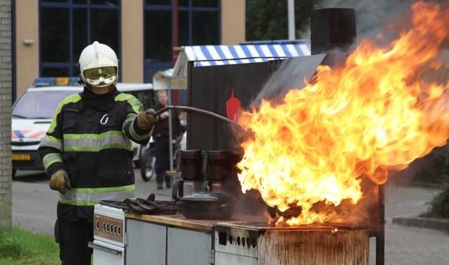 Uit brandrisicoprofielen blijkt dat jonge ouders een grotere kans op een woningbrand hebben dan gemiddeld. Archieffoto: Johan Morgenstond.