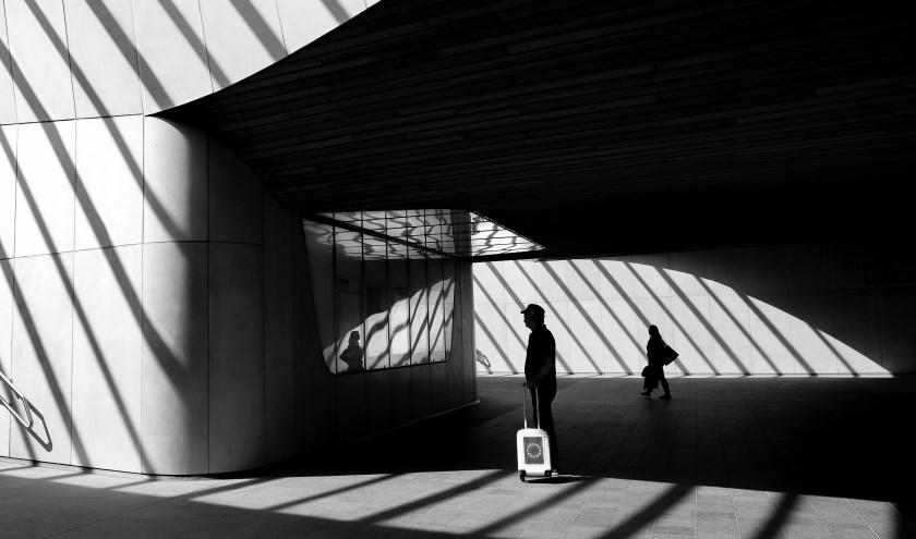 Station Arnhem, winnar van de fotowestrijd De vele wegen die naar Arnhem leiden 2018