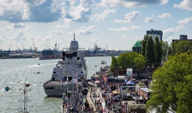 Het grootste jaarlijkse maritieme evenement van Nederland is dit jaar omvangrijker dan ooit.