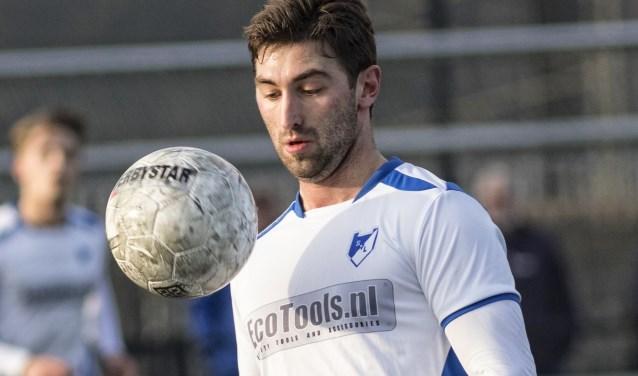 Willem Baay, de man van de wedstrijd. FOTO: Jan van Kooten.