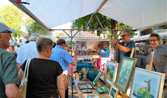 Zomeravondmarkt op donderdag 6 september van 19.00 tot 21.30 uur aan de Markt. Toegang is gratis.
