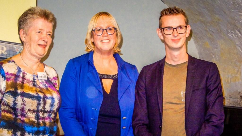 Greet Jongeling, Ineke Hissink Kapper en Mathijs Ten Broeke Foto: Gerard Kiezebrink © Persgroep