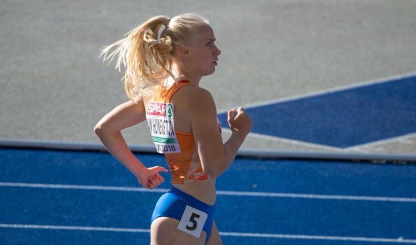 Marije van Hunensteijn, een Apeldoornse topatleet.