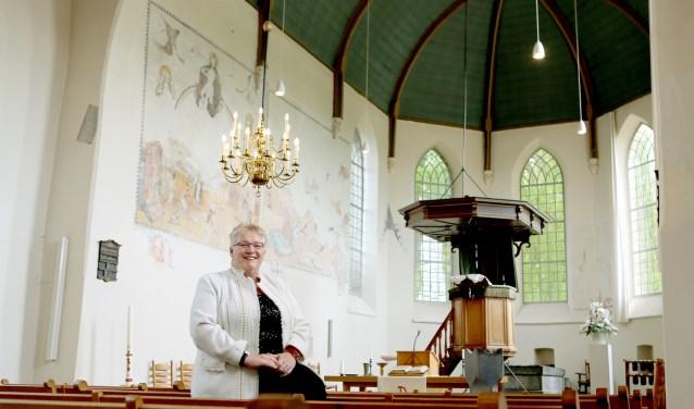 Op 30 september neemt dominee Wya de Kam - Diepeveen afscheid van 'haar' Protestantse Gemeente Echteld.
